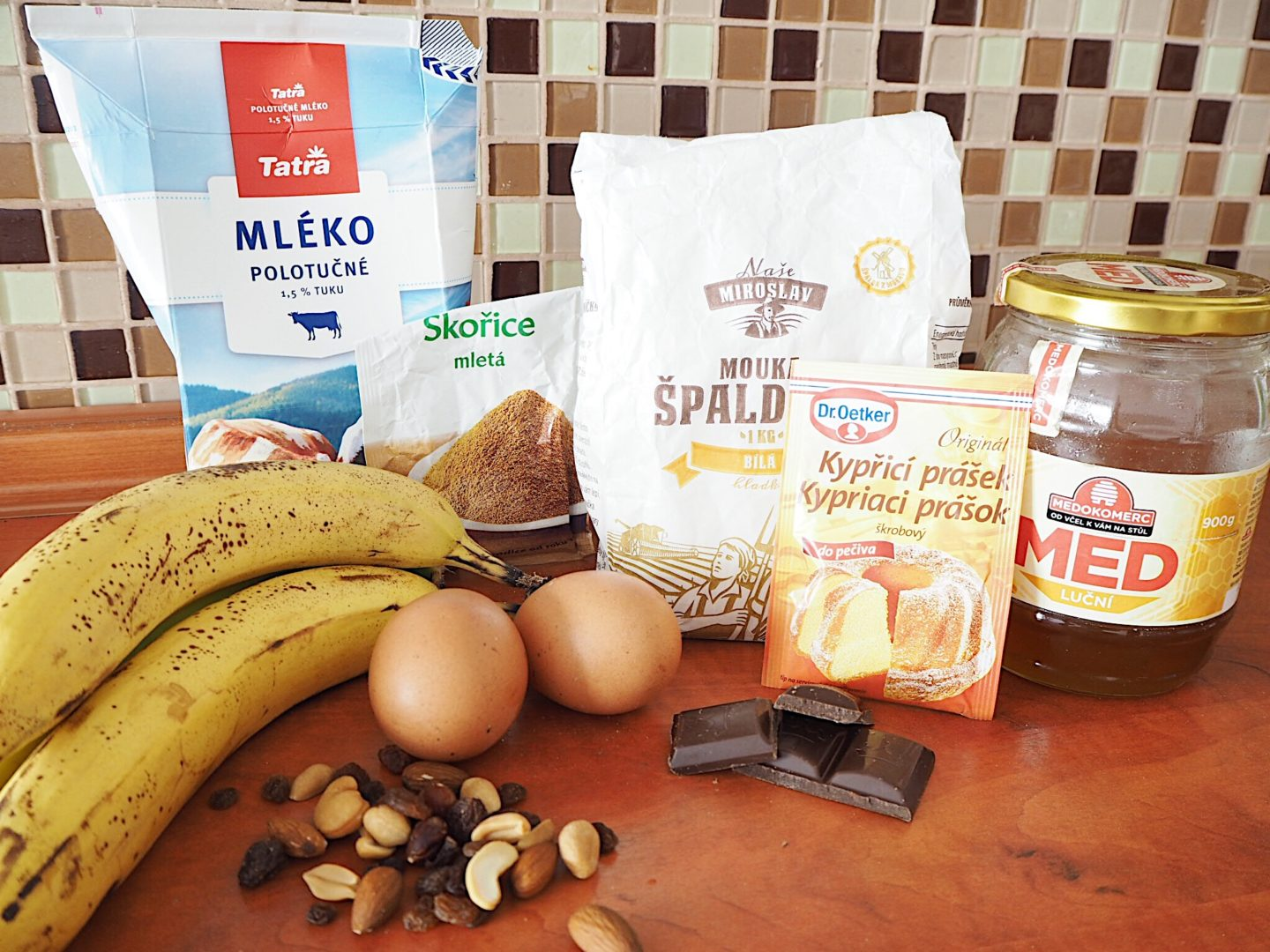 banana bread recept fitness brunettie