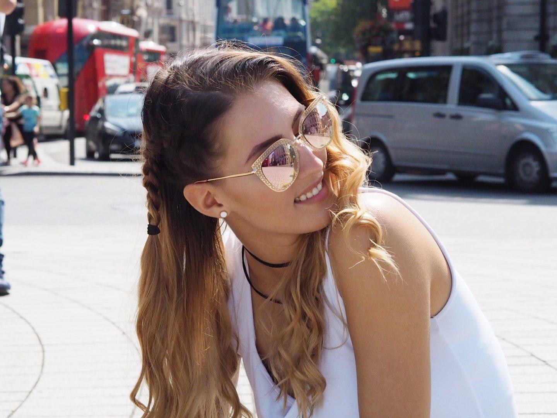 brunettie london londýn travelling cestování