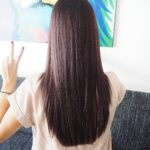 brunettie brunette new hair hair dark hair change