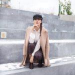 brunettie fashion blog móda story blogger kabát outfit ootd fotoreport