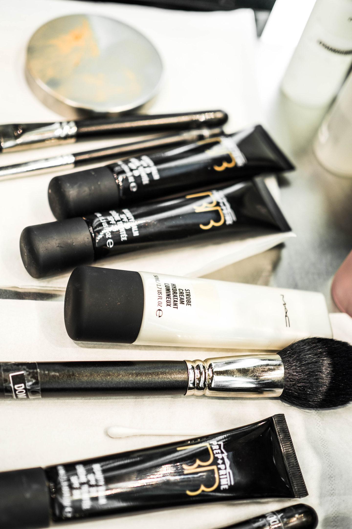 brunettie blogger mac event nyx článek kosmetika cosmetics