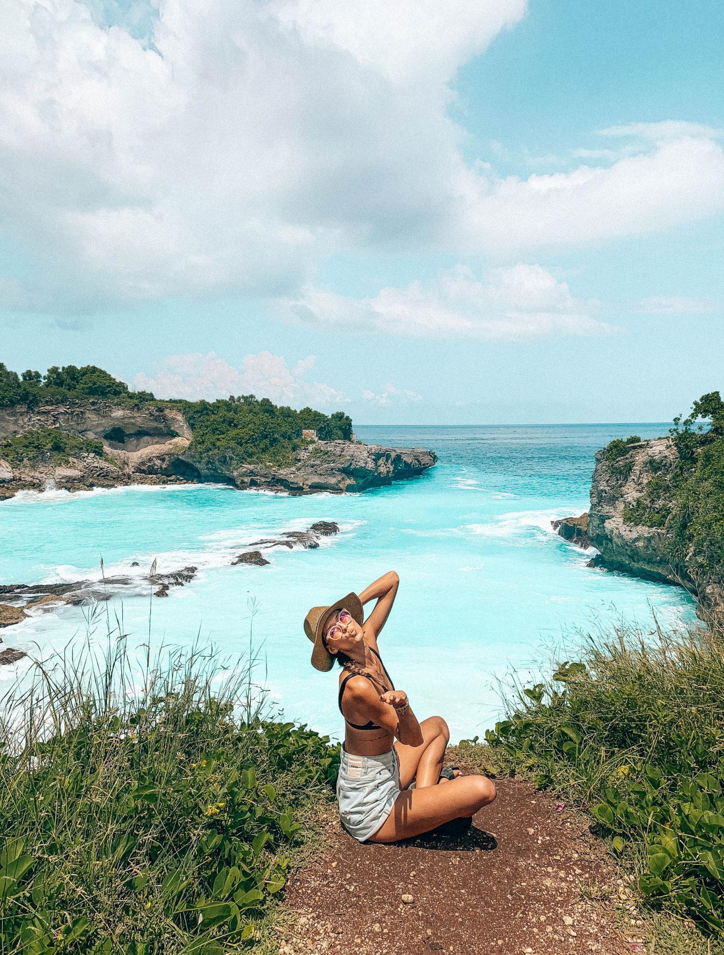 blue lagoon nusa penida nusa lembongan nusa ceningan bali trip travelling instagram spots brunettie cestovani indonesia