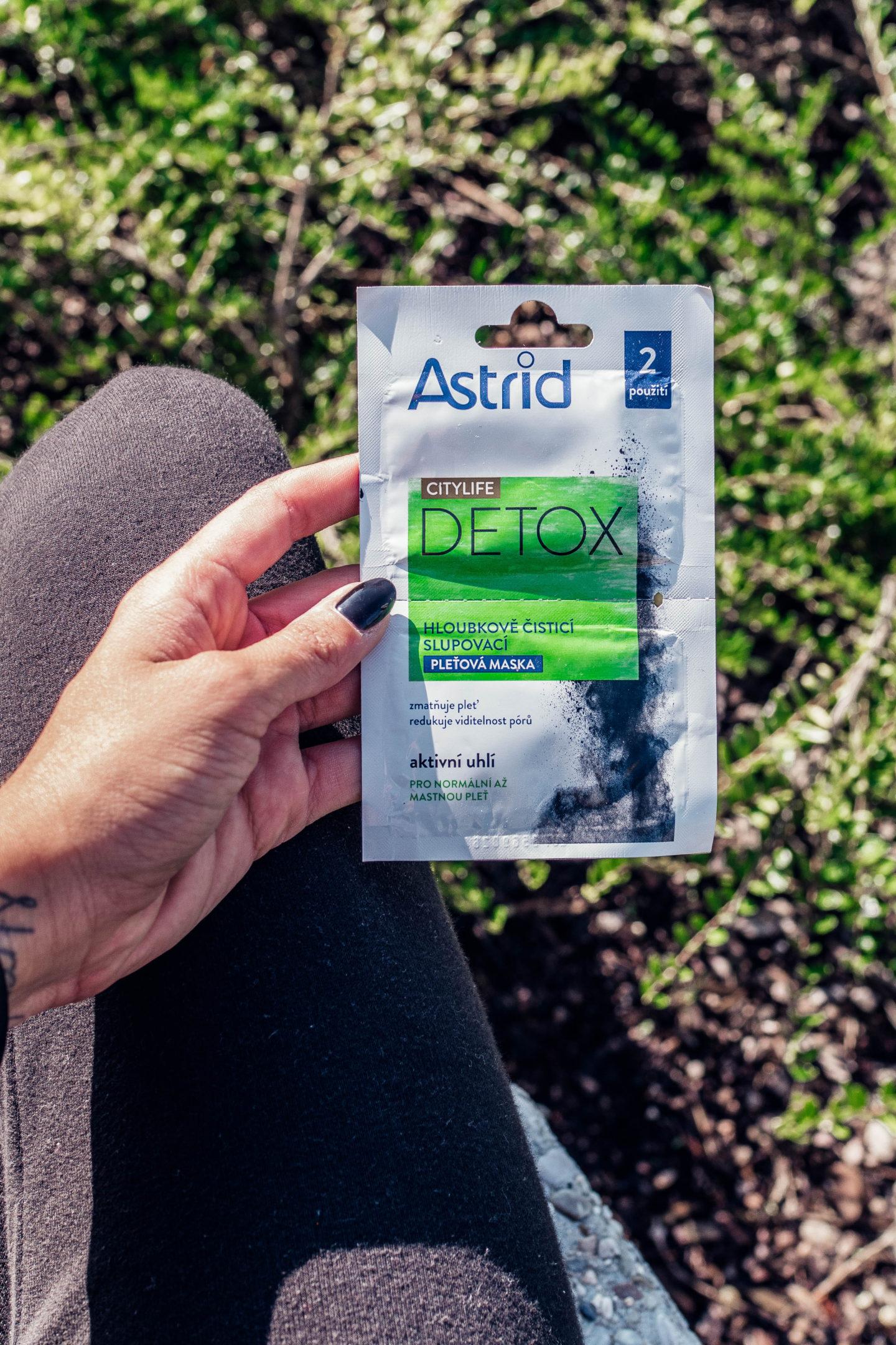 astrid detox city řada recenze kosmetika krém micelární voda brunettie