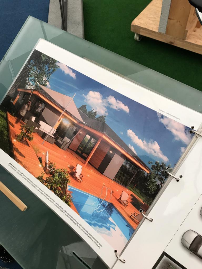 veletrh brunettie dům stavba dřevostavba